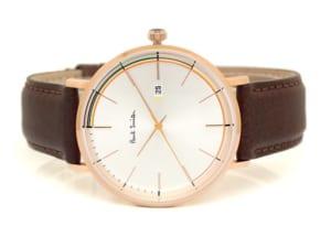 【送料無料】ポールスミス Paul Smith 腕時計 ウォッチ メンズ 革ベルト アナログ3針 デイトカレンダー Track 42mm ps0070015 by CAMERON