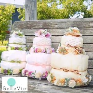 【おむつケーキ】 ナチュール おむつケーキ by Belle Vie