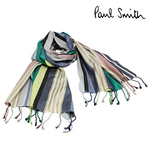 【Paul Smith】 ポールスミス ストール マフラー ストライプ メンズ レディース ブランド 人気 ギフト m2a300eas29 ギフト by CAMERON
