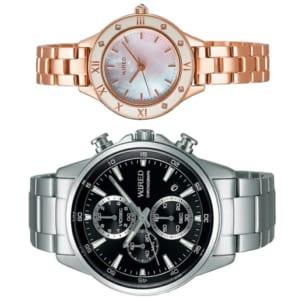 【送料無料】ペアウォッチ SEIKO WIRED セイコー ワイアード 腕時計 ウォッチ 2本セット クオーツ AGAT424 AGEK441 by CAMERON