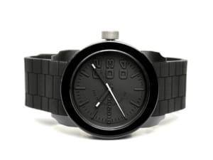 DIESEL ディーゼル 腕時計 ウォッチ うでどけい メンズ 男性用 5気圧防水 アナログ3針 ブラック ラバー dz4374 ギフト by CAMERON