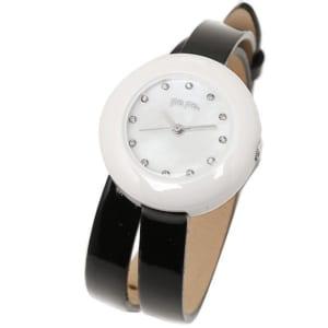 フォリフォリ FOLLI FOLLIE 時計 腕時計 フォリフォリ 時計 レディース FOLLI FOLLIE WF13F030SSK-BK HEART4HEART ハートフォーハート 腕時計 ウォッチ ブラック/ホワイト by ブランドショップAXES(日本流通自主管理協会会員)