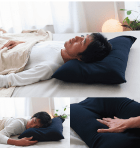 名入れ可 男の夢枕 (超極小ビーズ枕)