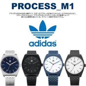 【送料無料】 adidas アディダス PROCESSS_M1 プロセスM1 腕時計 ウォッチ メンズ レディース クオーツ Z02 ADIDAS17 by CAMERON