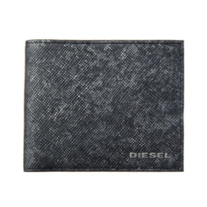 ディーゼル 二つ折り財布 グレー系+ブラック