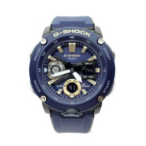 カシオ CASIO 腕時計 メンズ GA-2000-2A G-SHOCK クォーツ ネイビー 送料無料 by トレンドギフト