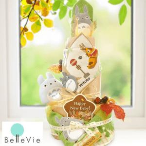 《おむつケーキ》 トトロトリプルタワーおむつケーキ
