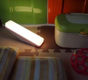 名入れ】ノクティス ナイトランプ 夜中のトイレ、深夜の授乳・夜泣きのお供に by スマートギフト