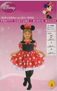 ☆即納☆【プリティコスチューム/ミニー お子様用】Minnie ディズニー公式商品