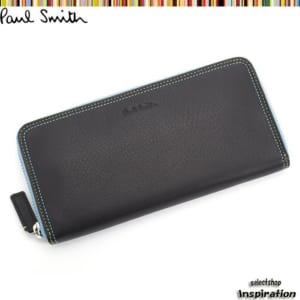 ポールスミス 財布 長財布〈黒〉(psu266-10)