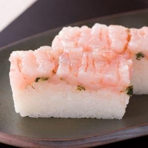 甘海老寿司 by 「生さば寿司」懐石料理・四季食彩 萩