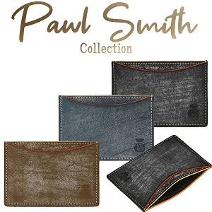 ポールスミス PCワックス 財布 定期入れ パスケース メンズ パスケース カードケース Paul Smith J161 by コレカラスタイル Corekara Style