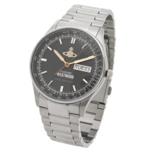 ヴィヴィアンウエストウッド 時計 VIVIENNE WESTWOOD VV207BKSL THE CRANBOURNE クランボーン メンズ腕時計ウォッチ シルバー/ブラック by ブランドショップAXES(日本流通自主管理協会会員)