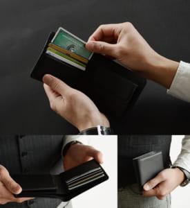 『 Nippon de Handmade 』牛革 二つ折り財布