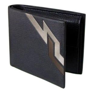 ダンヒル 二つ折り財布 デューク マーケトリー ブラック