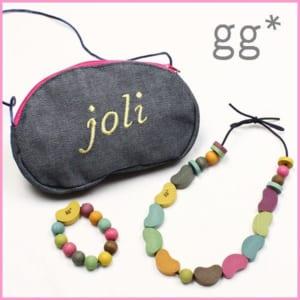 gg* my jewelry set 木製ネックレス♪子供用アクセサリー