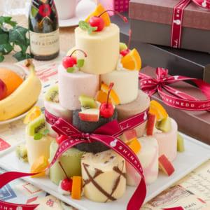 9種のミニロールケーキキット