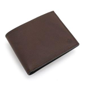 タケオキクチ 財布 二つ折り財布 チョコ