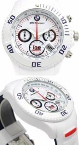 【送料無料】ice watch アイスウォッチ BMW コラボ 腕時計 ウォッチ メンズ 男性用 クオーツ 10気圧防水 クロノグラフ ホワイト bmchwebs13 ギフト by CAMERON