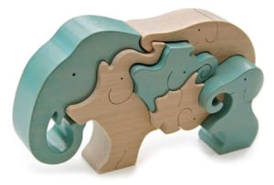 象のスタンディングパズル
