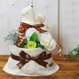 オーガニック おむつケーキ