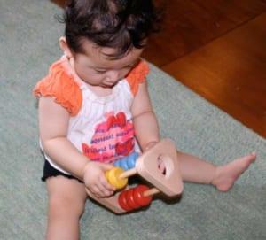 [日本製安心おもちゃ] がずあそび [名入れ][日本製 赤ちゃん おもちゃ 木のおもちゃ 知育玩具 ベビーギフト ラトル 6ヶ月 7ヶ月 8ヶ月 9ヶ月 10ヶ月 1歳 2歳 3歳 4歳 出産祝いギフト おしゃぶり がらがら ラトル 男の子&女の子 カタカタ 計算機 誕生日 誕生祝い 型はめ 親子 木育 家族 ] by 木のおもちゃ製作所・銀河工房