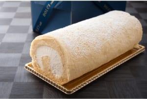 「和三盆ロールケーキ 18cm」徳島県産和三盆糖 しっとり高級感 無添加