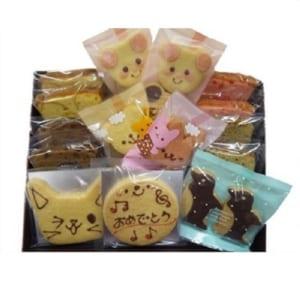 「アニマルクッキー」お祝い焼き菓子ギフト(15点入り)