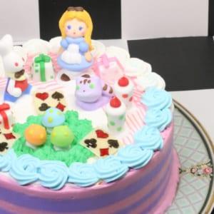 【アリスのギフトケーキ】ブランティーグルの可愛いアリスケーキ
