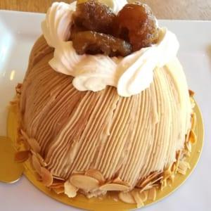 デラックスモンブラン 4~5号「栗 ホールケーキ」