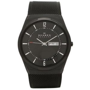 スカーゲン 時計 ブラック