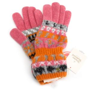 ヴィヴィアンウエストウッド 手袋 ピンク×オレンジ Vivienne Westwood ACCESSORIES 233vw00701015 レディース 婦人 by セレクトショップ インスピレーション