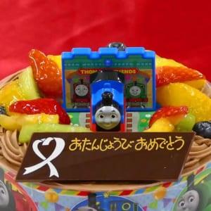 【卵アレルギーの子どもへ】キャラデコ誕生日ケーキ