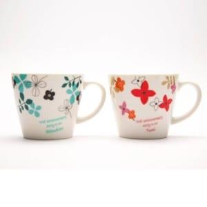 名入れペアマグカップ アラモードペアセット【送料無料】 by 名入れ屋さんの贈り物 KARIN