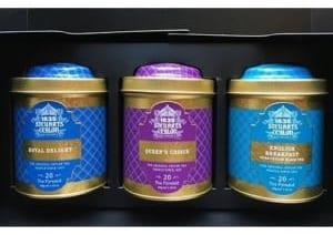 【ギフトボックス】 George Steuart Tea トライアングルバッグ3缶 (全国送料無料) by 味とサイエンス