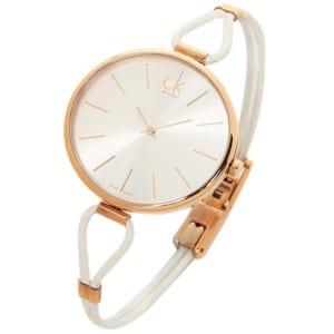カルバンクライン 時計 レディース CALVIN KLEIN K3V236.L6 SELECTION セレクション 腕時計 ウォッチ シルバー/ピンクゴールド/ホワイト by ブランドショップAXES(日本流通自主管理協会会員)
