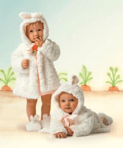 【バニーズバイザベイ】雪うさぎのコート&ブーティギフトセット♪