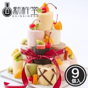 新杵堂 ロールケーキタワー キット