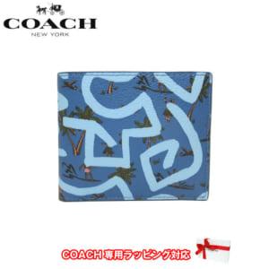 コーチ キース・ヘリング 2つ折り財布