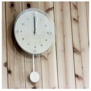 送料無料【名入れ振り子電波時計☆ウッディー 】名入れ 時計 掛け時計 振り子時計 プレゼント ギフト 結婚祝いギフト・退職祝い記念品・誕生日プレゼント by 名入れ屋さんの贈り物 KARIN
