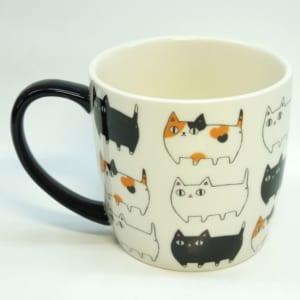 猫3兄弟 マグカップ 「渋滞中」 by 雑貨屋 木の実