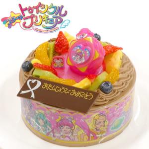 バースデーケーキ キャラデコお祝いケーキ スター☆トゥインクルプリキュア