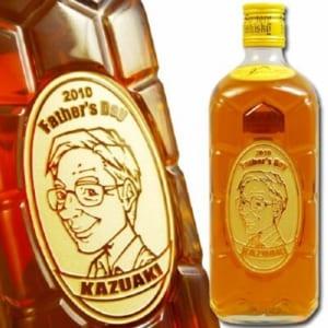 【名入れ 似顔絵入り】 ウイスキー サントリー 角瓶