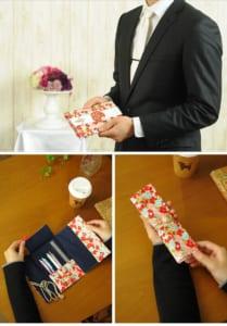 結姫 musubime ペンケースに変わるご祝儀袋 結婚祝い用