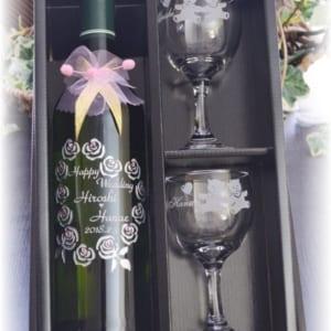【フルワイン750ml&ペアワイングラス】