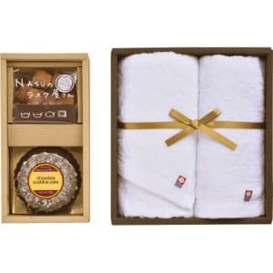 NASUのラスク屋さん 焼き菓子&今治タオル詰合せ(包装・のし可) 4997920013288 by ライフィス