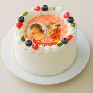 世界で私だけのオリジナルケーキ♪ 思い出の写真をケーキに!(4号 12cm)