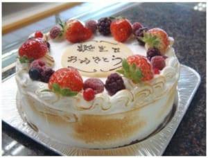 バースデーケーキ  ホールアイスケーキ M