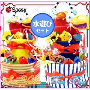 サッシーのおむつケーキ