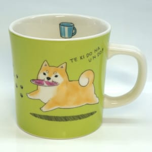 茶柴部長マグカップ「休日」 by 雑貨屋 木の実